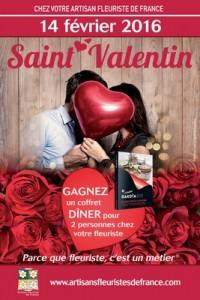 Saint Valentin avec Fleurs d'émotion