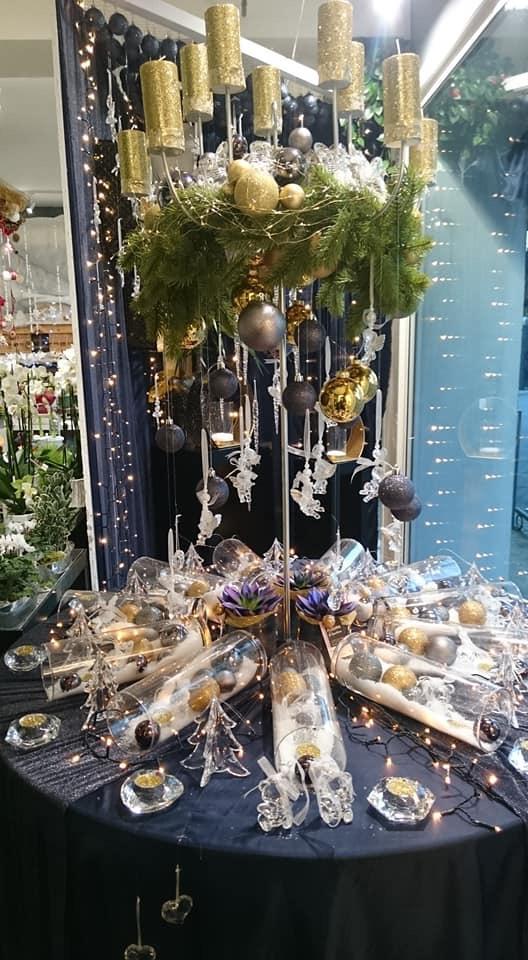 Table ronde Fleurs d'émotion - Noël 2018